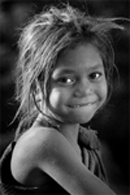 Tribal Girl. Photographer Madhu Gopal Rao Rama