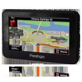 GPS navigator Prestigio GeoVision 5120BT