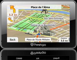 GPS navigator GeoVision 5500TMC